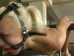 blond slave is worked over 2 of 2