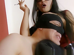 Crazy Homemade record with Couple, Femdom scenes