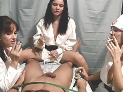 Nurse Handjob: Smoking and a Handjob
