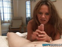 Pov older mistress jizz