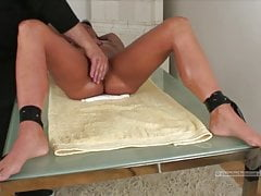 Simony Diamond tied has to suck dick swallows cum