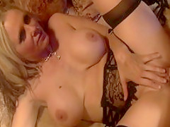 Horny pornstar Julia Ann in amazing cunnilingus, big ass adult scene