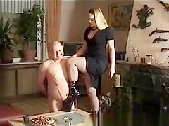 Exotic Amateur movie with Blonde, Femdom scenes