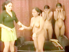 Indian Group Spanking