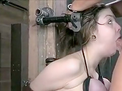 Hottest Amateur clip with BDSM, Brunette scenes