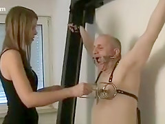 Horny Homemade video with BDSM, Femdom scenes