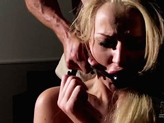 Kayla Green gives her evil boss a blowjob