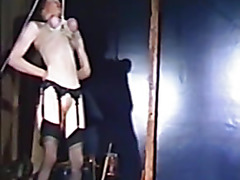 Vintage BDSM Movie with two hot slaves P2