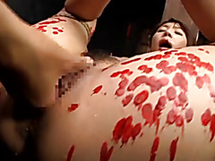 Japanese hottie enjoys a kinky BDSM fun