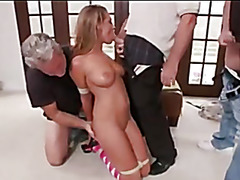 Submissive young by Old Men
